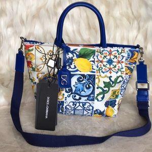 DOLCE & GABBANA barroco bag 100% authentic